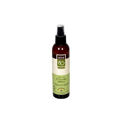 Lily Of The Desert - Aloe 80 Organics Styling Spray - 8 oz.