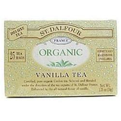 St. Dalfour Organic Tea Vanilla - 25 Tea Bags