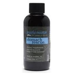 Peaceful Mountain Mini Stomach Rescue Syrup, 2 fl oz