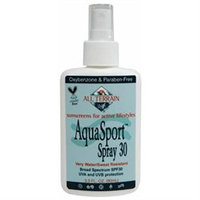 All Terrain, AquaSport Spray Sunscreen SPF 30, 3 OZ