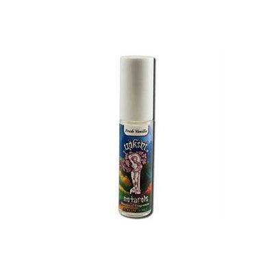 Yakshi Naturals Roll-On Fragrance, Fresh Vanilla, 1/3 oz, Yakshi Fragrances