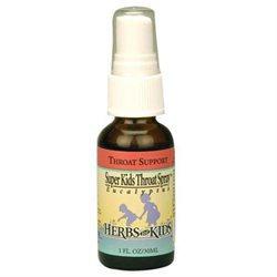Herbs for Kids - Super Kids Throat Spray Peppermint - 1 oz.