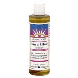 Heritage Store Aura Glow Oil, Almond, 8 fl oz