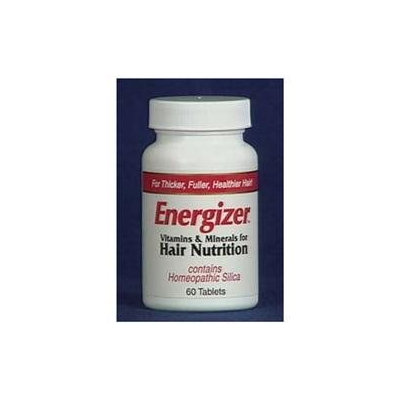 Energizer Vitamins & Minerals for Hair Nutrition, 60 Tablets, Hobe Labs
