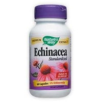 Natures Way Echinacea Standardized Extract 60 Caps