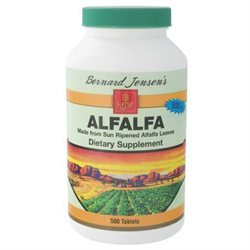 Bernard Jensen Alfalfa Leaf Tablets 550 mg 500 Tablets