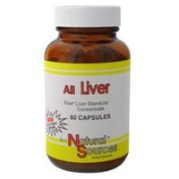 All Liver 60 Cap By Natural Sources (1 Each)