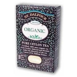 St. Dalfour Organic Tea Pure Ceylon - 25 Tea Bags