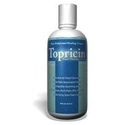 Topical BioMedics - Topricin Foot Therapy Cream - 8 oz.