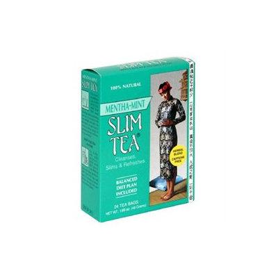 Slim Tea Mint Flvr 24 Bag by Hobe Laboratories (1 Each)
