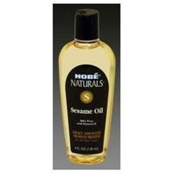 Hobe Laboratories 0754275 Naturals Sesame Oil 4 fl oz - 118 ml - 4 oz