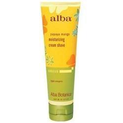 Alba Botanica Hawaiian Moisturizing Cream Shave Papaya Mango