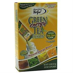 To Go Brands Healthy To Go! Green Tea Fusion
