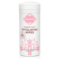 Fake Bake 12990218709 Passion Fruit Exfoliating Wipes - 40wipes