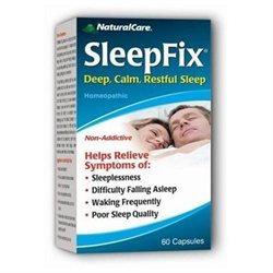 NaturalCare SleepFix Capsules, 60 ea
