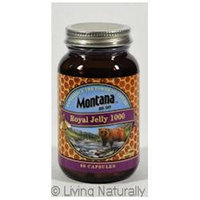 Frontier Royal Jelly 1000mg 60 Caps by Montana Naturals