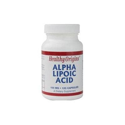 Healthy Origins Alpha Lipoic Acid 100 mg, Capsules