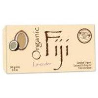 Organic Fiji - Face and Body Coconut Oil Bar Soap Lavender - 7 oz.