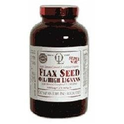 Olympian Labs Flax Seed Oil High Lignans - 1 g - 90 Softgels