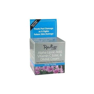 Reviva Labs Alpha Lipoic Acid, Vitamin C Ester & DMAE Cream