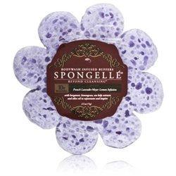 Spongelle Body Wash Infused Buffer - 10 Washes - French Lavender - Meyer Lemon