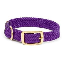 Mendota Double Braid Collar in Purple