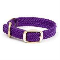 Mendota Double Braid Junior Collar in Purple