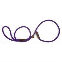 Mendota Small Slip Leash in Purple