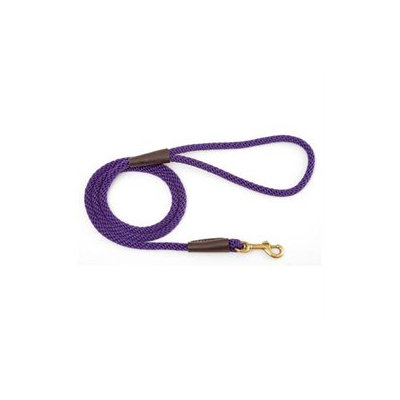 Mendota Small Snap Leash in Purple