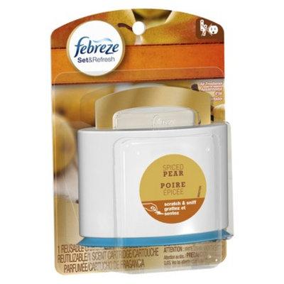 Febreze Set & Refresh Starter Kit - Spiced Pear (0.18oz)