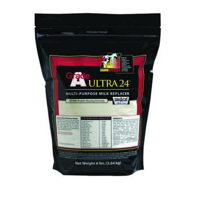 Milk Products, inc Ultra 24 percent Milk Replacer 4 Poun01-7428-0215