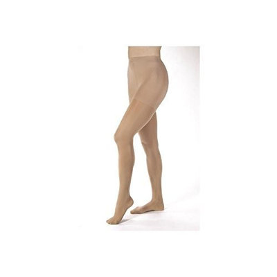 Jobst Women's Opaque 30-40 mmHg Extra Firm Support Pantyhose Size: Medium, Color: Classic Black