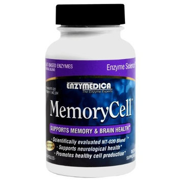 Enzymedica - MemoryCell 60 count - Supports Memory and Brain Health