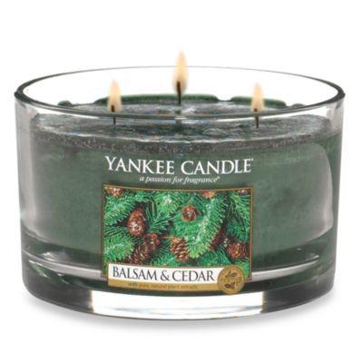 Yankee Candle® Housewarmer® Balsam and Cedar™ 3-Wick Candle