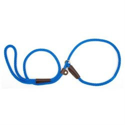 Mendota Slip Dog Lead 4ft x 3/8in Blue