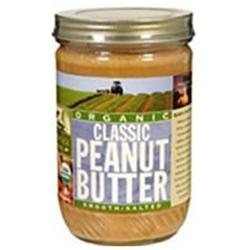 WOODSTOCK FARMS Org Classic Smooth Peanut Butter 16 OZ