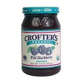 CROFTERS Organic Wild Blackberry Conserves 10 OZ
