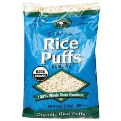 NATURE'S PATH Organic Puffed Rice Cereal 6 OZ