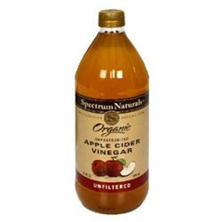 Spectrum Diversified SPECTRUM NATURALS Organic Unfiltered Apple Cider Vinegar 32 OZ