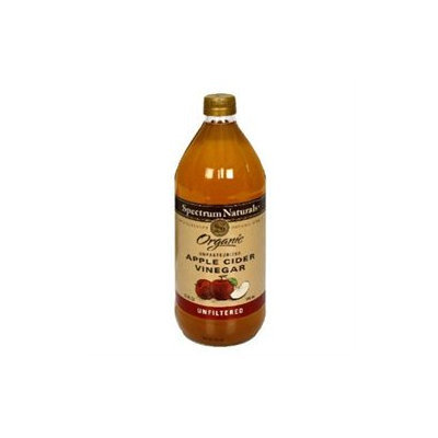 Spectrum Diversified SPECTRUM NATURALS Organic Unfiltered Apple Cider Vinegar 32 OZ