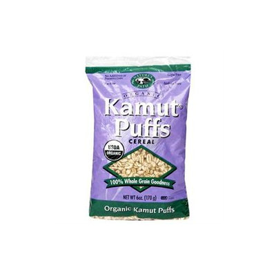 NATURE'S PATH Organic Puffed Kamut Cereal 6 OZ