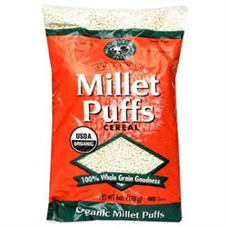 NATURE'S PATH Organic Puffed Millet Cereal 6 OZ