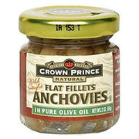 Crown Prince Flat Anchovies In Olive Oil