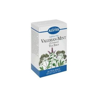 Valerian Mint Tea 24 Bags by Alvita Teas