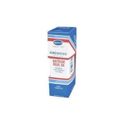 Hylands - Cell Salts 9 Natrum Muriaticum 6 X - 1000 Tablets