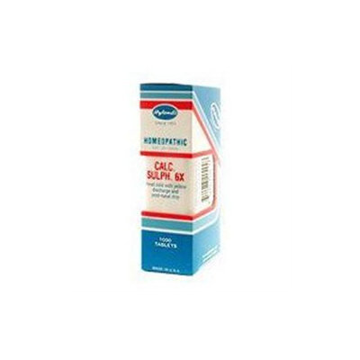 Calcarea Sulphurica 6X by Hylands - 1000 Tablets