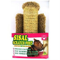 Flexrake 99105 Hula Ho Sisal Scratch Post For Cats