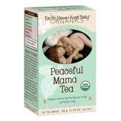 Earth Mama Angel Baby Organic Tea, Peaceful Mama 16 ea