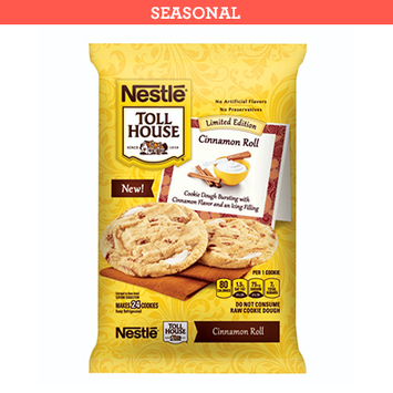Nestlé® Toll House® Cinnamon Roll Cookie Dough