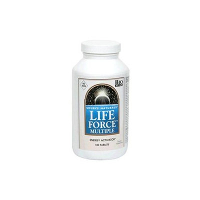 Source Naturals Life Force Multiple No Iron - 180 Tablets